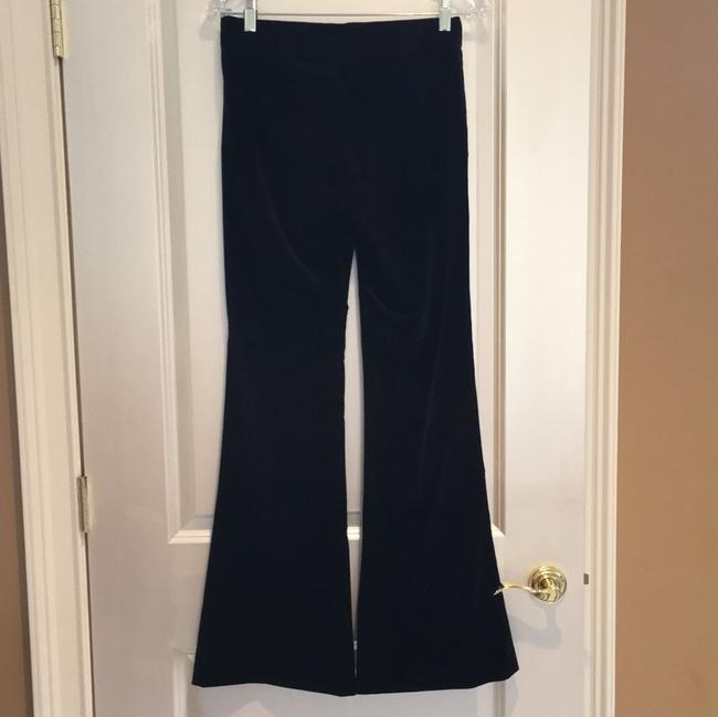 Theory Velvet Pants Flare Pants Rich Brown Image 2