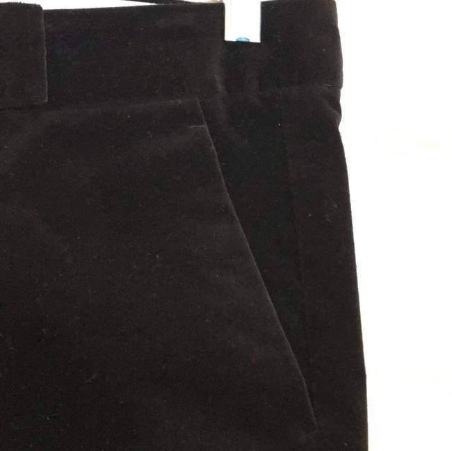Theory Velvet Pants Flare Pants Rich Brown Image 4