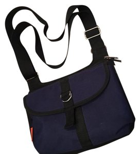 Ampac Navy and Black Travel Bag