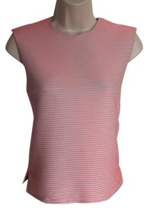 Opening Ceremony Ribbed Neon Top Pink