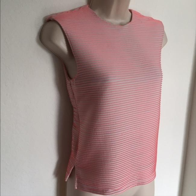 Opening Ceremony Ribbed Neon Top Pink Image 1