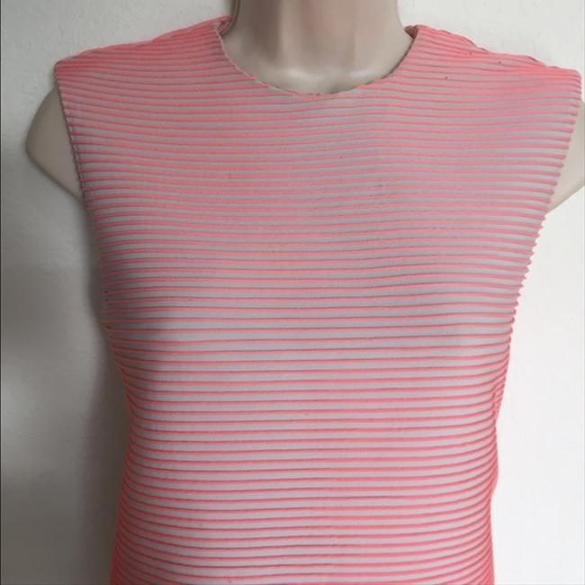 Opening Ceremony Ribbed Neon Top Pink Image 2