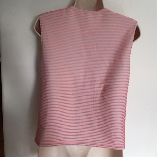 Opening Ceremony Ribbed Neon Top Pink Image 3