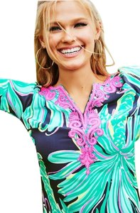 Lilly Pulitzer short dress Tiger Palm on Tradesy
