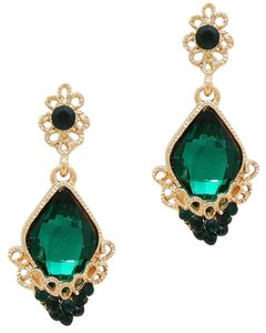 Other Emerald Green Crystal Earrings
