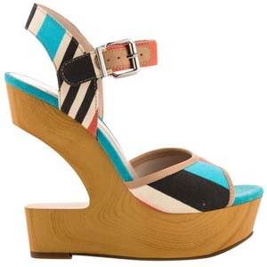 BCBGeneration Bcbggeneration Heels Striped Wedges