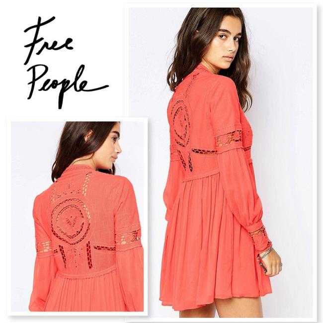 Free People short dress Coral on Tradesy Image 1