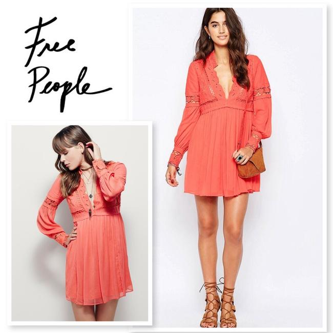 Free People short dress Coral on Tradesy Image 2