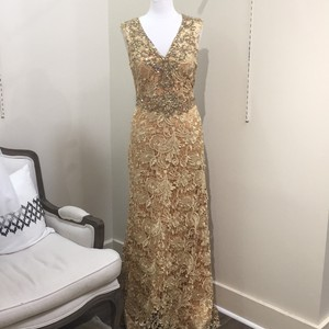 Jovani Gold Dress