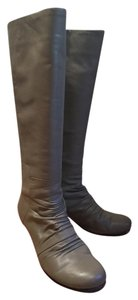 Seychelles Leather Tall Boot Grey Boots