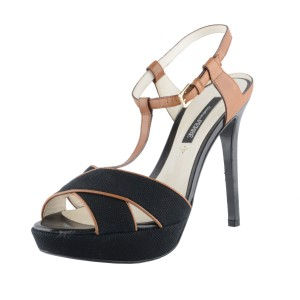 Gianfranco Ferre Black / Brown Sandals