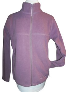 Cabela's Full Zip Fleece Large Petite Small Lavender Jacket