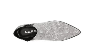 L.A.M.B. Grey Gwen Steffani White/Grey Boots