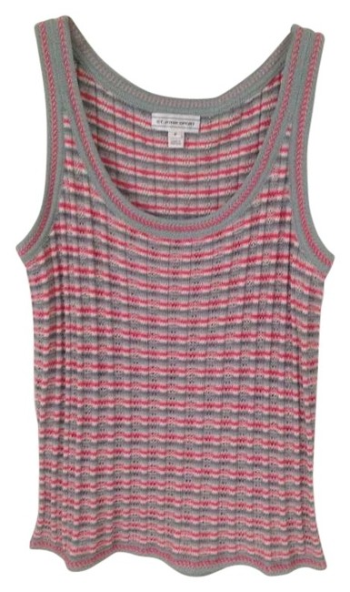 Preload https://item3.tradesy.com/images/st-john-pink-and-green-sport-tank-topcami-size-4-s-198492-0-0.jpg?width=400&height=650