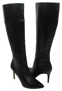 Via Spiga Knee High Tall Boot Black Boots