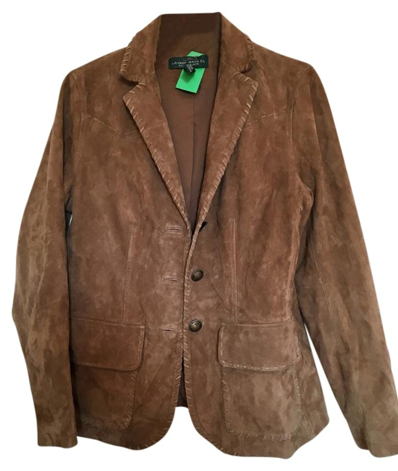 Ralph Lauren Suede Suede brown Leather Jacket Image 0 ... ed482a957c8b5