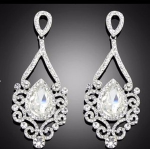 Rhinestone Bridal Earrings