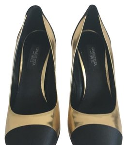 Giambattista Valli Black and gold Pumps