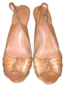 ALDO Brown/Tan Platforms