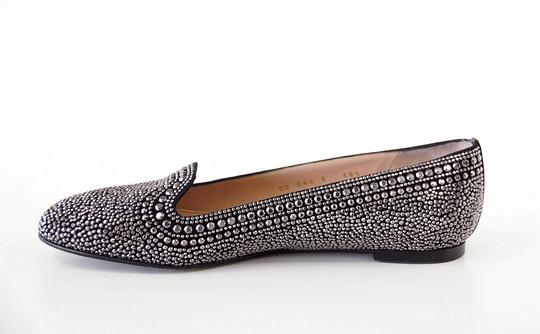 Valentino Studded Leather Black with silver studs Flats Image 1
