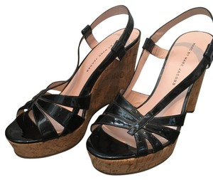 Marc by Marc Jacobs Black and cork Wedges