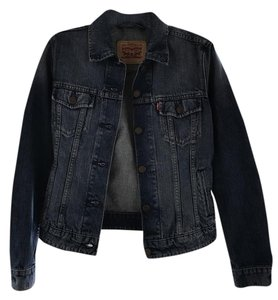 Levi's Classic Denim Blue Denim Womens Jean Jacket