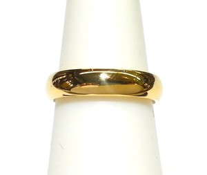 Tiffany & Co. Tiffany & Co 18K Yellow Gold LUCIDA Ring Band