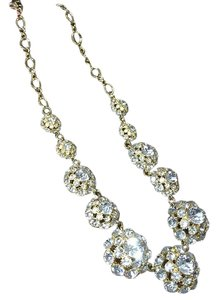 Kate Spade Crystal Necklace & Matching Earrings