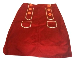 Marc Jacobs Skirt Red/Cream