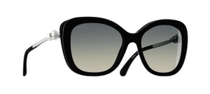 Chanel * Chanel Square Black Pearl 5339-H Polarized Sunglasses
