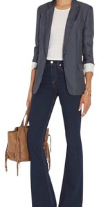 Rag & Bone Navy blue polka dot Blazer