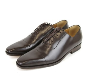 Gucci Brown Leather Lace-up Oxford 12.5/ Us 13.5 206625 2140 Shoes