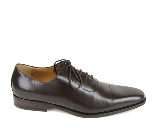 Gucci Brown Leather Lace-up Oxford 12.5/ Us 13.5 206625 2140 Shoes Image 6