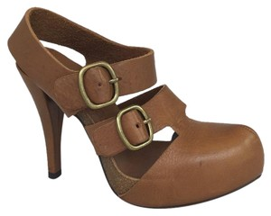 Pedro Garcia Light Brown Platforms