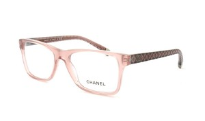 Chanel NEW Chanel CH 3325 Pink Quilted Rectangle Eyeglasses Frames