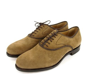 Gucci $750 New Authentic Gucci Men's Suede Dress Shoes Oxford Brown Gucci 7.5/ Us 8.5 309028 2561