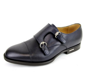 Gucci $660 New Authentic Gucci Men's Leather Loafer W/double Horsebit Buckle Gucci 8/ Us 9 322478 4009
