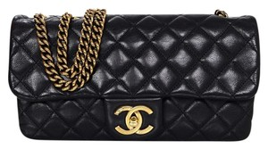 Chanel Quilted Flap Leather Shoulder Bag