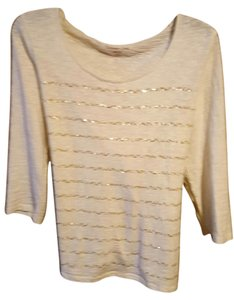 Coldwater Creek Tan Beige Tunic