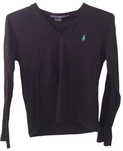 Preload https://item1.tradesy.com/images/polo-sport-black-with-green-pony-tee-shirt-size-8-m-19850-0-0.jpg?width=400&height=650