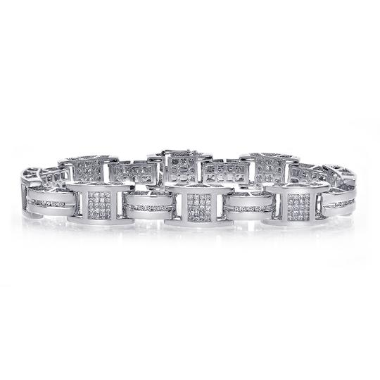 Preload https://img-static.tradesy.com/item/19850007/avital-and-co-jewelry-white-350-carat-mens-diamond-14k-gold-bracelet-0-1-540-540.jpg