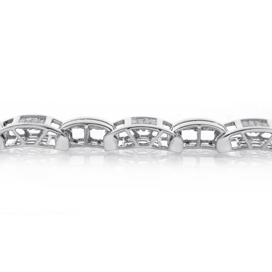 Avital & Co Jewelry 3.50 Carat Mens Diamond Bracelet 14K White Gold Image 2