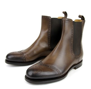 Gucci $990 New Authentic Gucci Men;s Leather Pull Up Boot W/elastic Insert Gucci 8/ Us 9 322496 2140