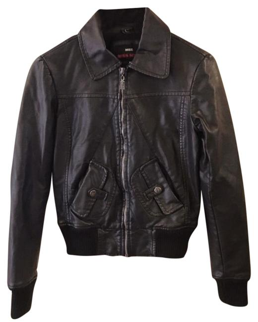 Preload https://img-static.tradesy.com/item/19850031/miss-sixty-black-faux-zip-front-leather-jacket-size-2-xs-0-1-650-650.jpg
