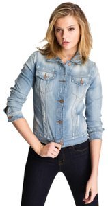 J Brand Light blue Womens Jean Jacket