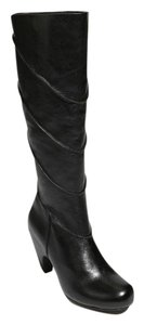 Miz Mooz Leather Tall Boot Black Boots