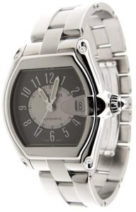Cartier Cartier Roadster Tuxedo Large Stainless Steel Automatic Date Watch B&