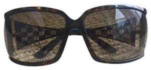 Gucci Gucci Tortoise and Gold Sunglasses