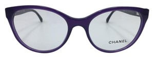 Chanel Stunning Cat Eye Purple Bow Chanel Eyeglasses 3283-Q c.1463 54