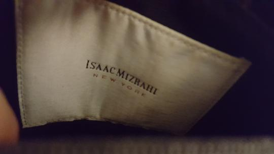 Isaac Mizrahi Patent Leather Patent Leather Satchel in Black Image 3